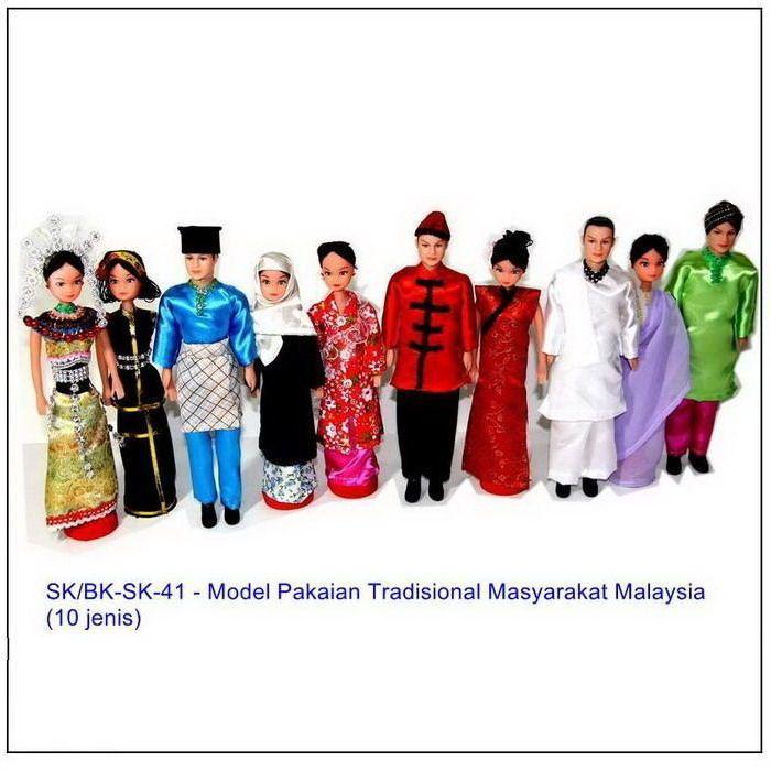 Gambar Baju Tradisional Malaysia