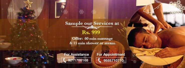 Sample our services at just Rs. 999/- Enjoy a 60 minutes #Massage and 15 minutes #Shower / #Steam !!!