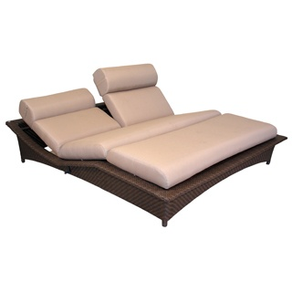 Classique's Stunning new Daybed complete with cushions as pictured. Covered by Classique's 3 Year Warranty.    Wicker from Classiques's own controlled Wicker Factory with proven weatherproof sythetic wicker.