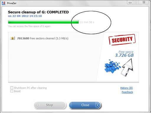 Free PC cleaner & Privacy tool  that cleans unwanted traces.
