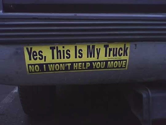 Best Car Stickers Images On Pinterest Advertising Haha And - 26 funniest bumper stickers ever