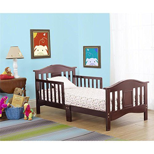 Beautiful solid #wood frame. Excellent detail in the headboard and footboard. Available in your choice of finish. Perfect height for child to get in and out of e...