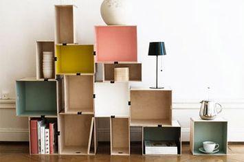 easy...: Diy Ideas, Crafts Ideas, Boxes Shelves, 31 Diy, Art Ideas, Diy Wall Art, Binder Clip, Easy Diy, Diy Projects