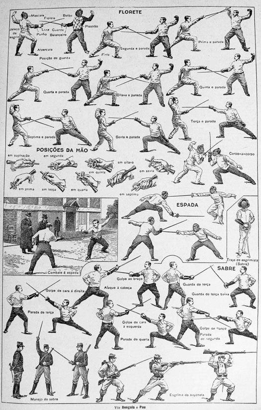 Esgrima - Siglo XIX