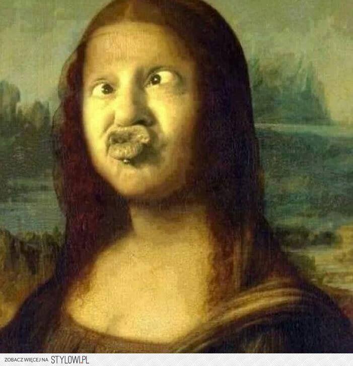 Приколы картинки мона лиза