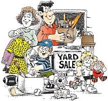 Cute Cartoon Yard Sales Thrift Stores Fun Pinterest