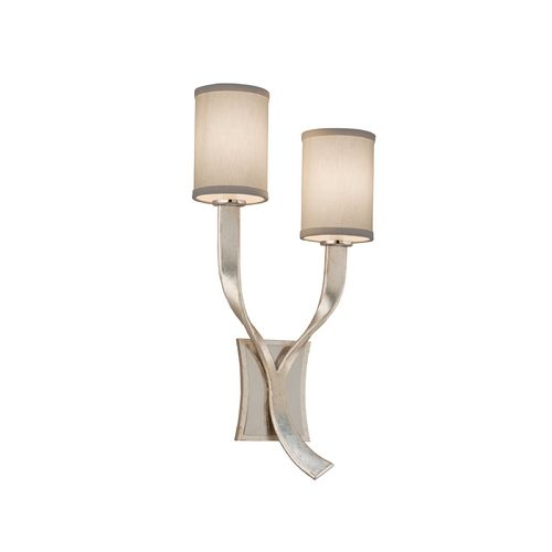 Corbett Lighting Roxy Modern Silver With S Sconce