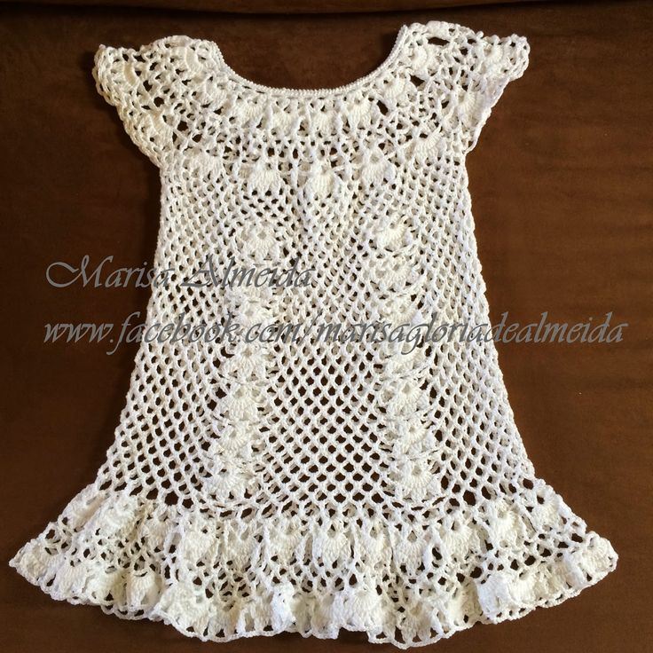 Marisa Almeida Tricot Crochet : Saída Praia Crochet ...