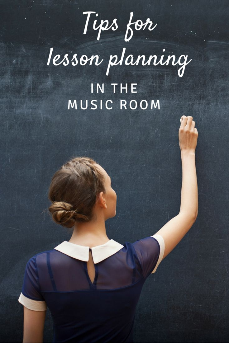 Tips for lesson planning in the music room: includes a video tutorial and links to two helpful blog posts about lesson planning!