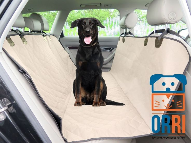Amazing Dog Car Seat Cover Rear Durable Waterproof Nonslip Rubber Backing Anchors Velcro Belt Openings Quilted Padded Comfortable Width 54 Easy To