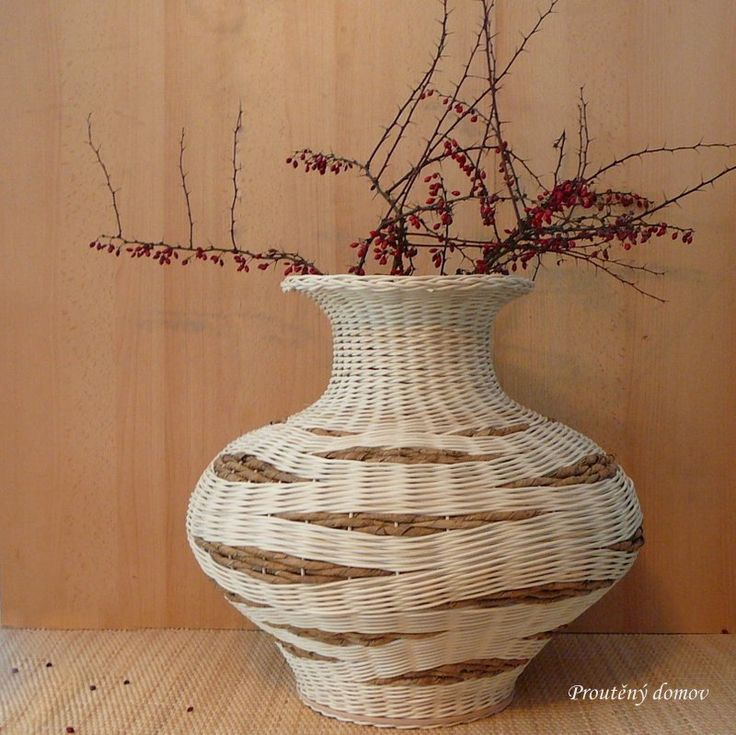 Váza vlnkovaná