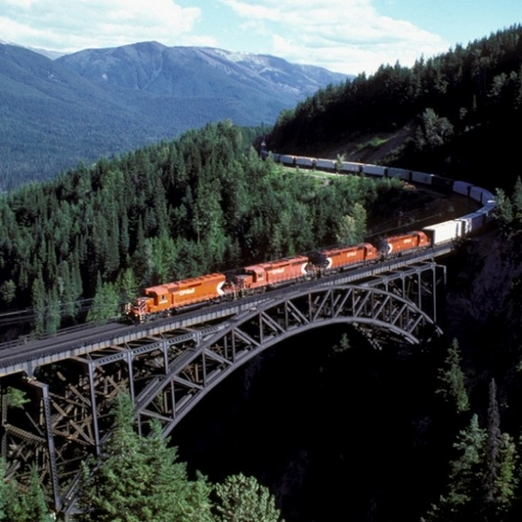 bon-voyage.co.uk  looks like the train bridge in Alexandria driving from Kamloops to Quesnel
