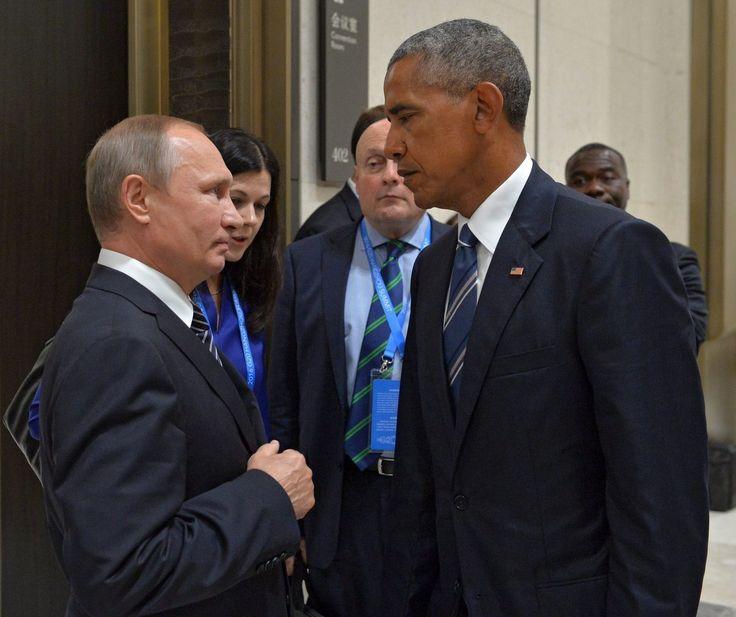 Obama wasn't in Putin's pocket, Trump!