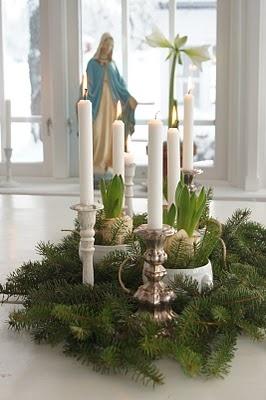pretty advent wreath