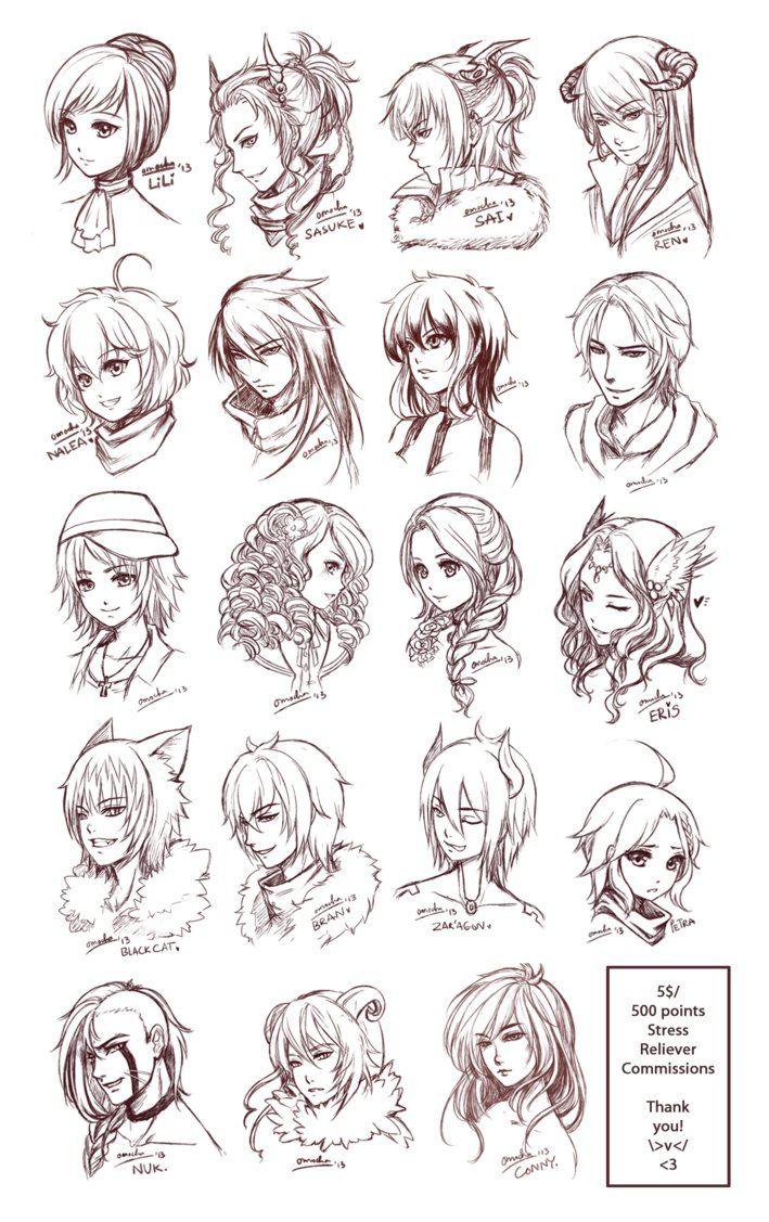 Brilliant 1000 Ideas About Anime Hairstyles On Pinterest Anime Hair How Short Hairstyles For Black Women Fulllsitofus