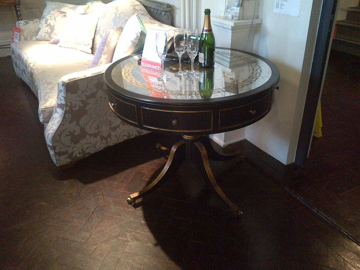 Stocktons painted round table
