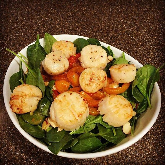 Alder Smoked Scallops With Citrus & Garlic Butter Sauce