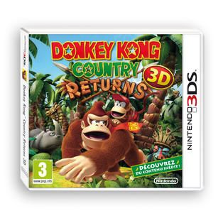 cool Donkey Kong Country Returns 3D en solde MEDIAMARKT en news NINTENDO