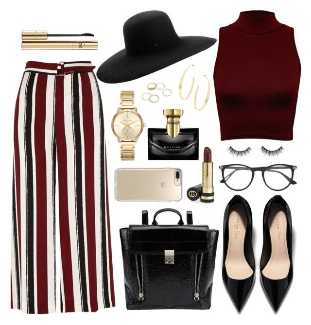 """132. Color Combo"" by coeurdalenee on Polyvore featuring Lana, 3.1 Phillip Lim, River Island, WearAll, Gucci, Maison Michel, Dolce&Gabbana, Speck, MICHAEL Michael Kors and Bulgari"