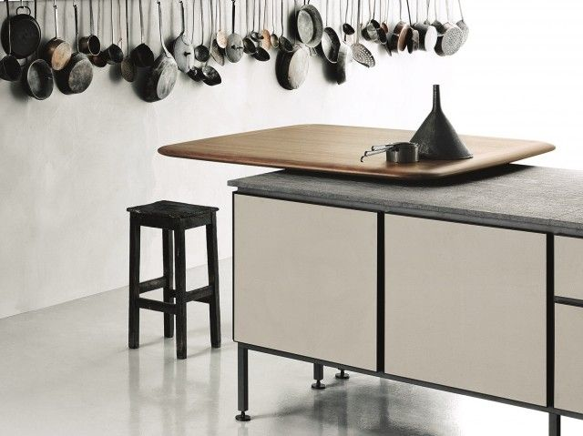 10 images about boffi on pinterest home remodeling - Cuisine avec table integree ...