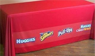 Table Cover - Event & Trade Show Table Covers