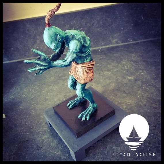 Abe Oddworld Figurine by SteamSailor on Etsy
