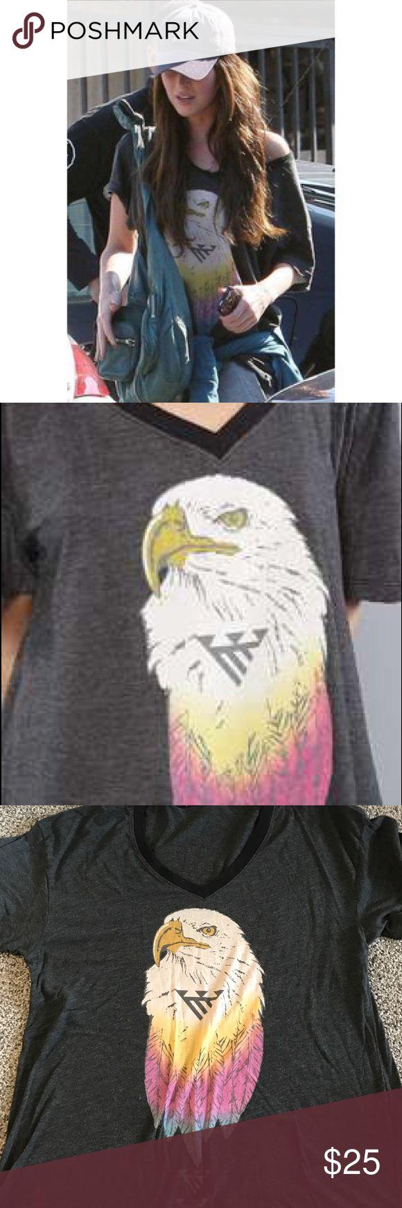 Wild fox desert eagle tee As seen on Megan fox! Boyfriend style tee. Super soft Wildfox Tops Tees - Short Sleeve