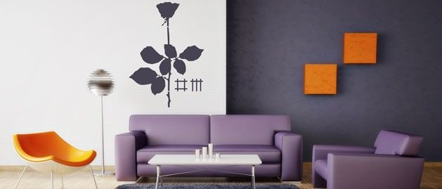 Depeche Mode (1556) / Samolepky na zeď, stěnu a nábytek