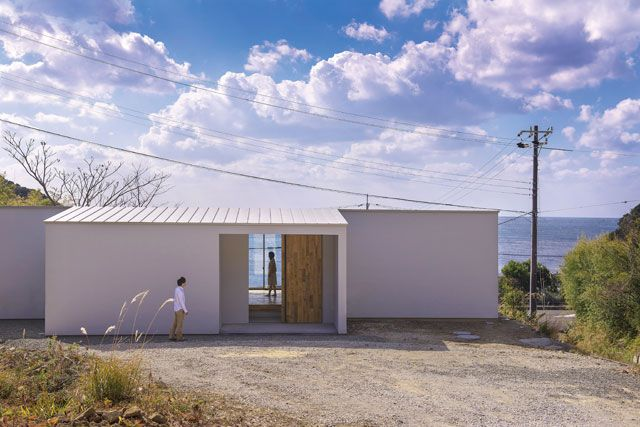 シラハマノヒラヤ|木造 平屋|奥和田健建築設計事務所