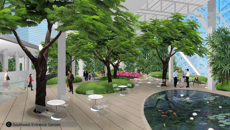 Devonian Gardens Artist Rendering   by City of Calgary