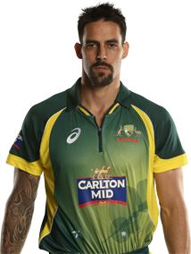 Mitchell Johnson     Role: Bowler    Bats: LHB    Bowls: LM    Date of Birth: 02 Nov 1981    The career of fiery left-armer Mitchell Johnson has been the proverbial roller-coaster ride.