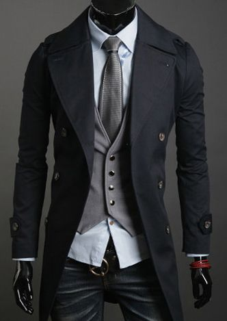 Trench Coat, for the half a dozen times a year it rains. ✤  re-pinned by http://www.waterfront-properties.com