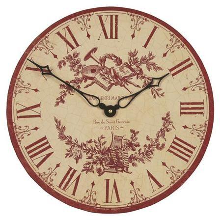 Roger Lascelles - Horloge murale [Toile]