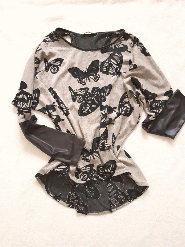 Schöne Bluse mit Rückenausschnitt