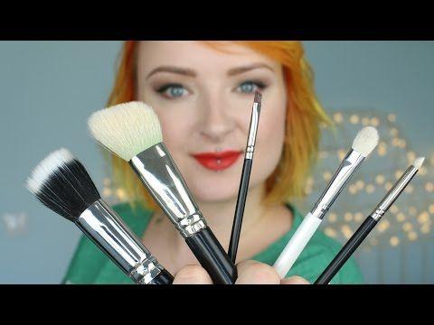 Pędzle do makijażu dla początkujących ★ Red Lipstick Monster ★ - YouTube
