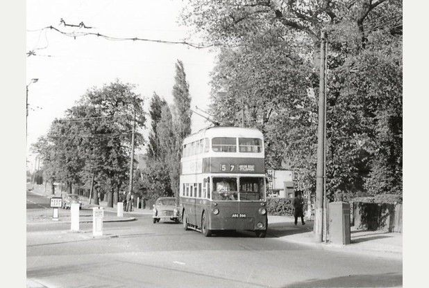 Bygones: Trolleybus pictures give views of Derby in days gone by | Derby Telegraph