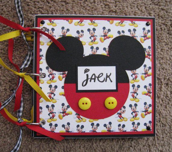 Disney libro de autógrafos Mickey Mouse nueva opción