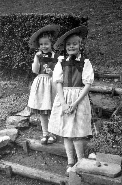 Traditional Swiss Costumes by Rosmarie Wirz, via Flickr