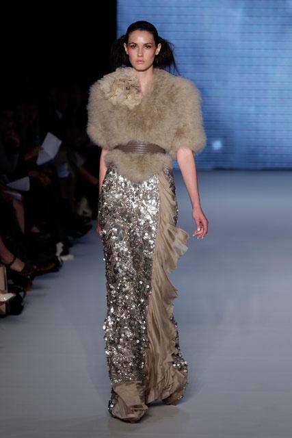 "Amazing Aurelio Costarella maxi skirt (Seen on Emaily Maynard, ""The Bachelorette"" episode 9)"