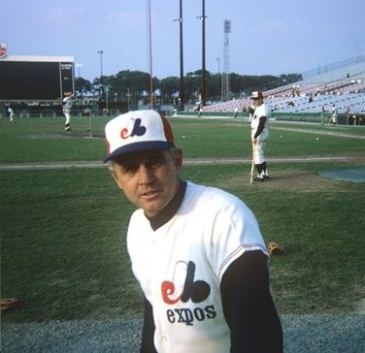 Gene Mauch, the Expos' first manager