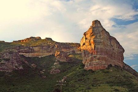 Golden Gate - near Lesotho