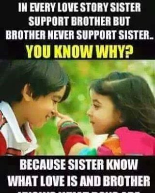 Tag Mention Share With Your Brother And Sister Siblings Funny Quotes Sister Quotes Funny Brother Quotes Funny