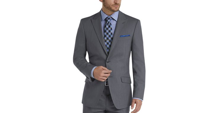 Check this out! Tommy Hilfiger Blue Slim Fit Suit - Slim Fit from MensWearhouse. #MensWearhouse