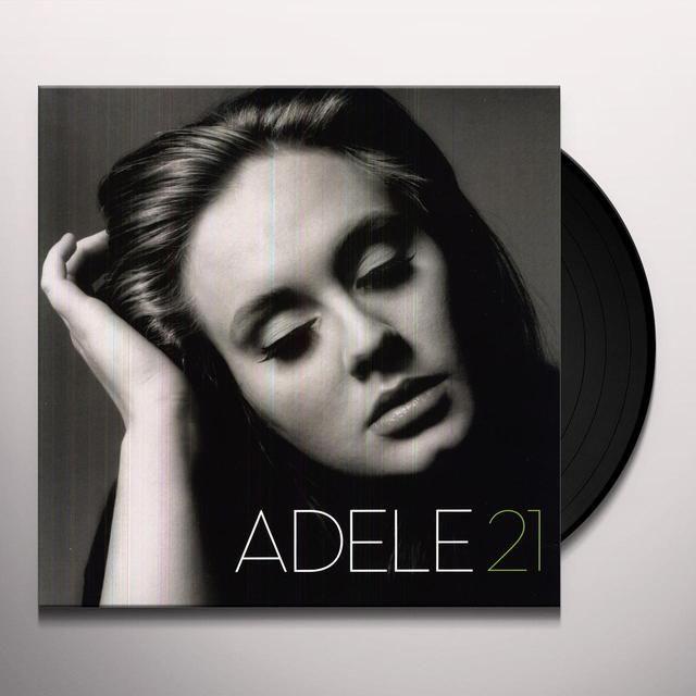 Adele 21 Vinyl Record | Download Included | https://www.merchbar.com/pop/adele/adele-21-dli