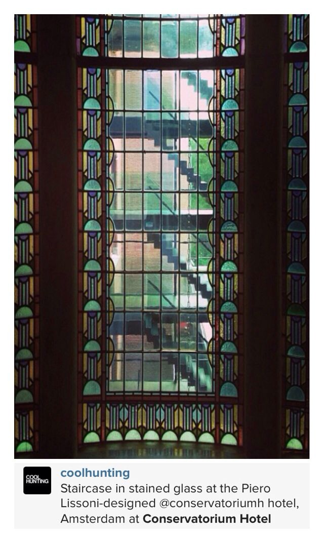 Art Nouveau Stain Glass Window Design Ideas