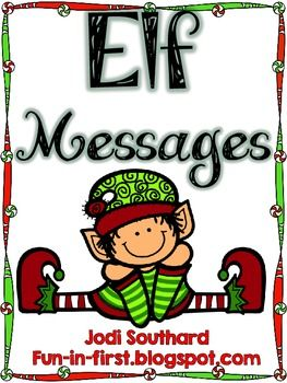 Elf Messages {A Freebie}