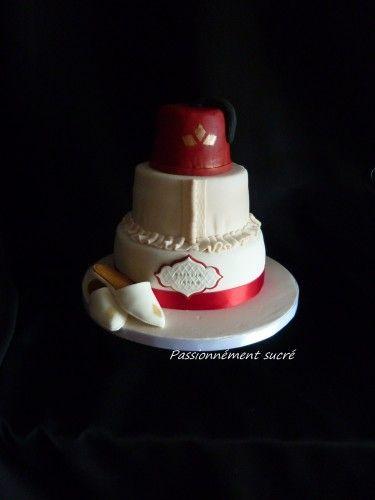 gâteau sur le thème de la circoncision