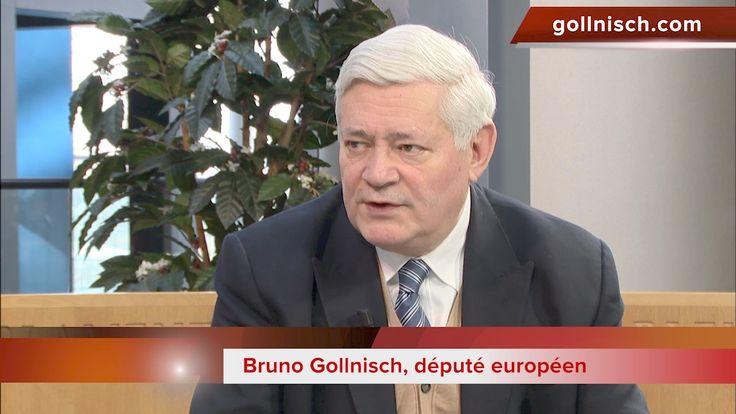 Stéphane Blet- Bruno Gollnisch. European Parliament. National Front.