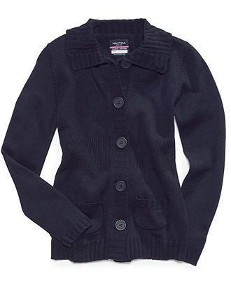 Nautica Kids Sweater, Girls Uniform - Kids School Uniforms - Macy's