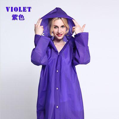 Good Quality EVA Fashion Girls Women Waterproof Raincoat Bicycle Portable Rain Jacket Rain Coat Rainwear Poncho Rain Gear